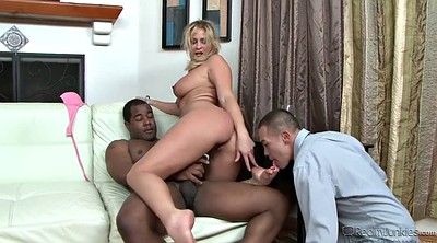 Double penetration, Milf anal, Blonde mature anal