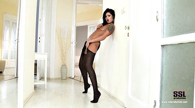 Fetish, Pantyhose foot, Black foot, Ebony pantyhose