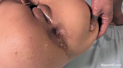 Asian anal, Hairy japanese