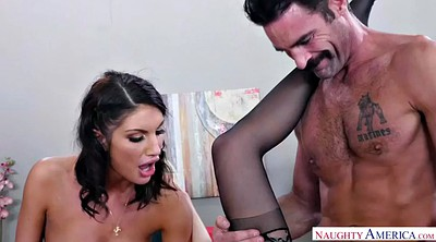 Sitting, Chubby creampie, August ames