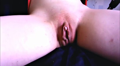 Big clit, Spreading, Rubbing