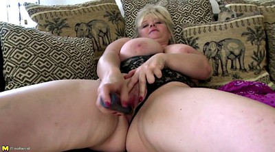 Mature pussy, Busty mom