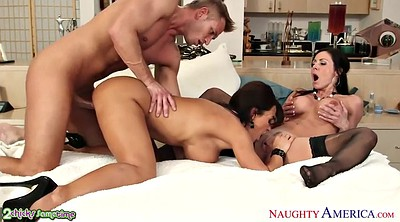 Lisa ann, Kendra lust, Old young, Old and young, Kendra lust threesome