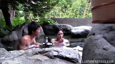 Japanese outdoor, Spring, Finger, Japanese double, Hot spring