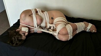 Rope, Tied up, Roped, Rope tied, Foot gag