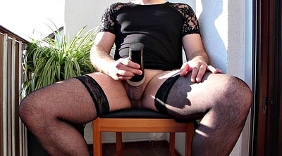 Wife watching, Gay outdoors