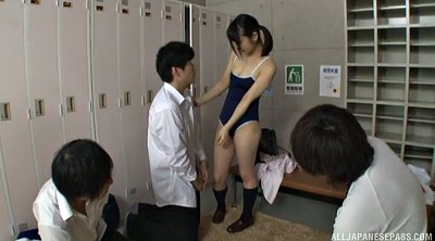 Japanese gangbang, Japanese couple