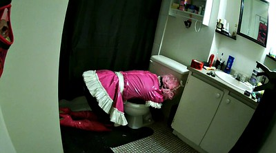 Toilet, Latex bdsm, Sissy latex
