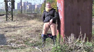 Piss, Peeing public, Public pee, Pissing outdoor, Piss femdom, Lesbian interracial