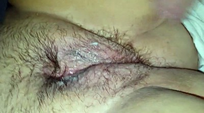 Clit, Hairy wife, Big clit