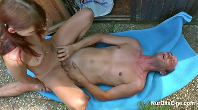German, Outdoor, Step mom, Step, Mom seduce