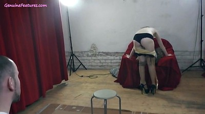 Czech casting, Striptease