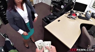 Desperate milf, Desperate, Office fuck