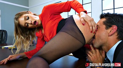Secretary, Giselle, Lick, Pantyhose panties, Office pantyhose