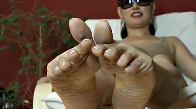 Asian mature, Asian foot, Mature feet, Mature foot, Feet sole, Dirty foot