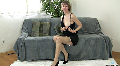 Kinky mature, Big stockings