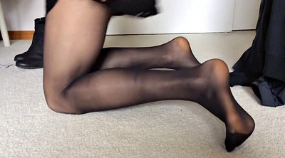 Nylon, Nylon feet, Nylon foot, Asian feet