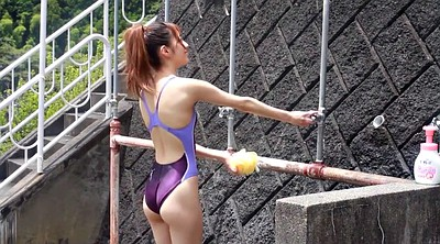 Swimsuit, Japanese fetish, Competition, Japanese girl