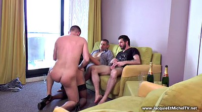 French, Double anal, French anal, French gangbang