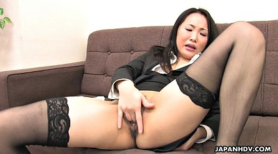 Japanese stocking, Japanese solo, Japanese office, Secretary, Fetish, Asian orgasm