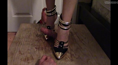 Cbt, Trample, High heels, Trampling, Foot femdom, High heels bondage