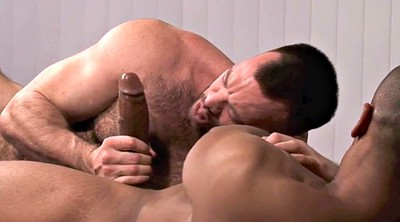 Interracial, Hairy daddy