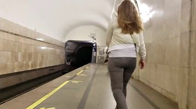 Voyeur ass, Cam, Train, Big booty