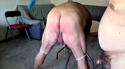 Saggy, Fat ass, Ass slave, Gay spanking