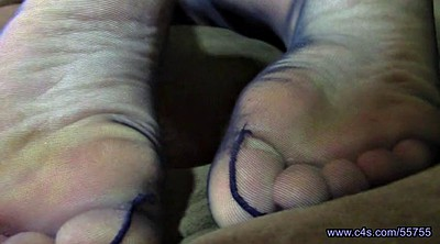 Nylon feet, Nylons, Pantyhose foot