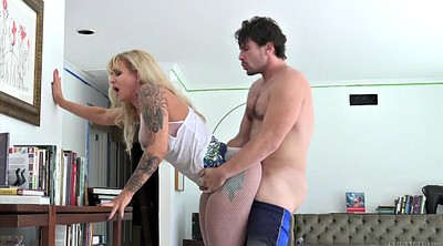 Ryan conner, Stand, Horny mom, Standing, Pantyhose mom