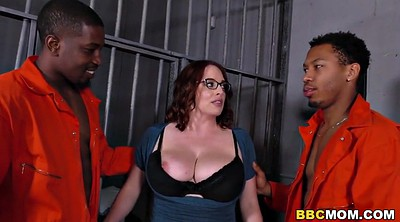 Mom, Busty mom, Moms, Busty moms, Jail, Ebony mom