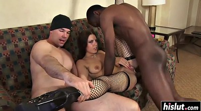Amateur threesome, Double penetration