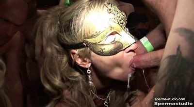Cum in mouth, Mouth, German creampie gangbang, Cum mouth, German gangbang creampie, Creampie bukkake