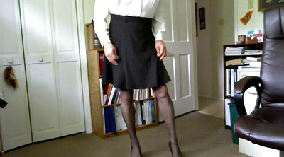 Pantyhose gay, Crossdresser, Crossdress