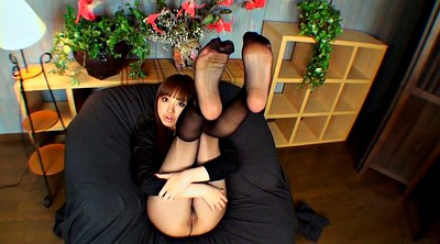 Pantyhose, Japanese pantyhose, Girl, Japanese foot, Pantyhose foot