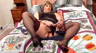 Shemale cum, Tranny, Shemale stocking, Masturbation stocking