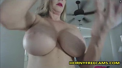 Strap on, Mature webcam, Cool, Busty milf