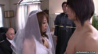 Japanese teen, Wedding, Bride, Wed, Japanese cock, Hairy teen