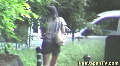 Japanese public, Asian public, Mess, Japanese voyeur, Behind