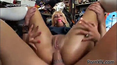 Throat fuck, Hot guys fuck, Hot blonde