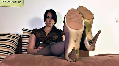 Mother, Nylons, Nylon feet, Nylon foot, Step mother, Cum on nylon