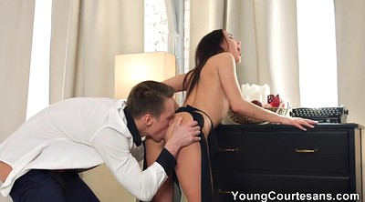 Licking, Seduce, Young anal
