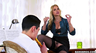Teacher, Eye, Pussy flashing