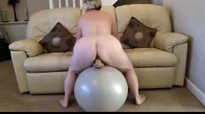 Riding dildo, Big dildos, Ball