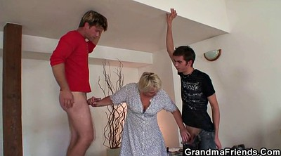 Mature, Old woman, Two pussy, Clean, Two mature, Granny pussy