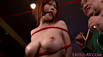 Japanese cumshot, Japanese bondage