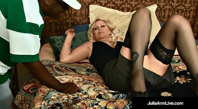 Julia ann, Julia ann black