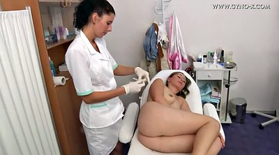 Gyno, Anal examination, Lesbian doctor, Examination, Doctor anal