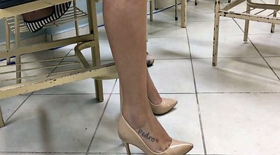 Heels, Milf foot, Milf feet, Fetish, High heels, Candid
