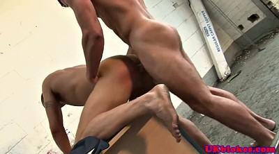 Muscle, Officer, Kinky, Anal orgasm